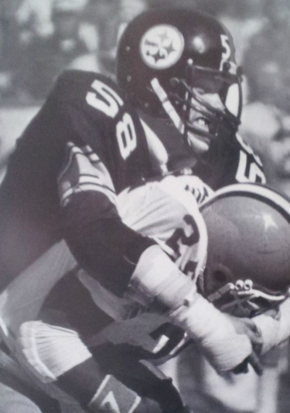 Steelers Browns Rivalry - Jack Lambert