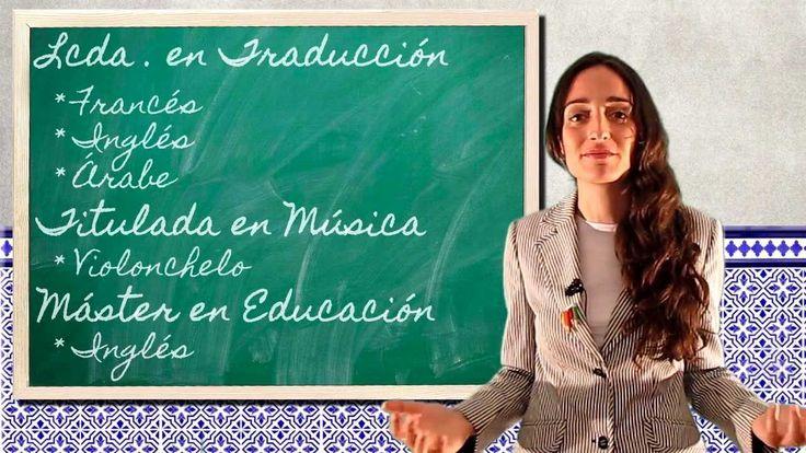 Video Curriculum Profesora Isabel Arteaga