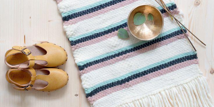 Tissage tapis: comment le faire soi même