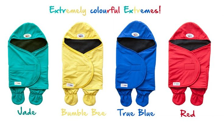 NEW Extreme Baby Wrap perfect for keeping baby warm on those cold winter days and are also water resistant.