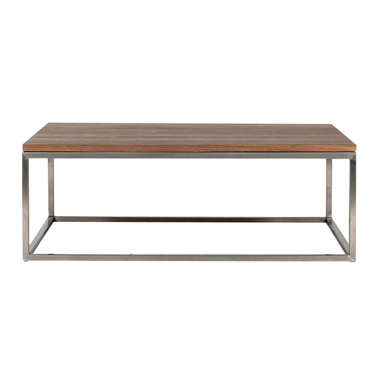 Wood Coffee Table Metal Legs: Coffee Table - Metal Legs, Wood Top
