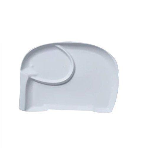 Astra Gourmet Cute Elephant Animal Shape Ceramic Snack Pl...