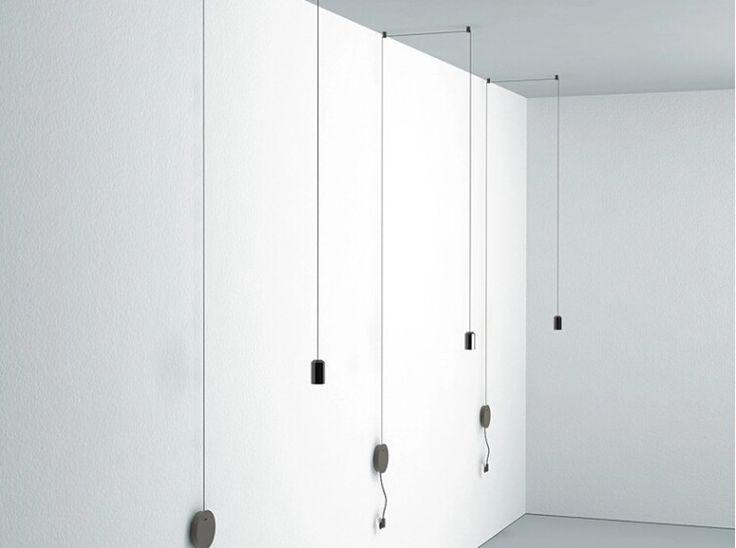 Moderný dizajnový luster, svietidlo na stenu s LED žiarovkou3