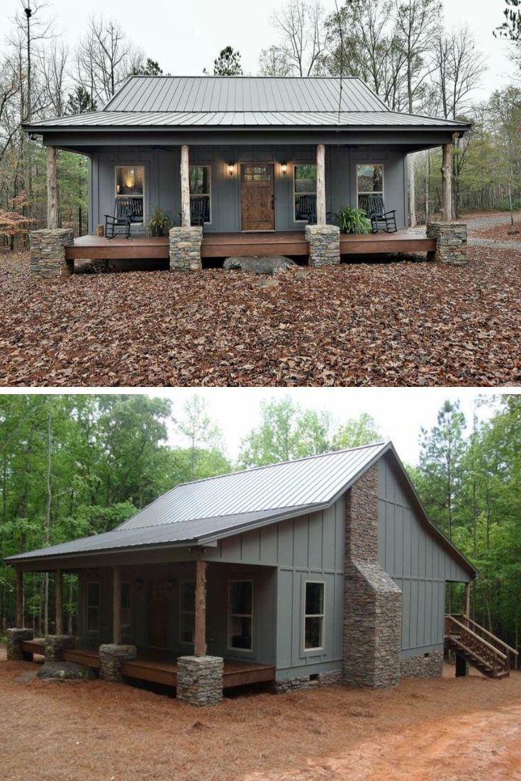Top 5 Most Beautiful Steel Homes Metal Building Answers Rustic House Plans House Exterior Farmhouse House