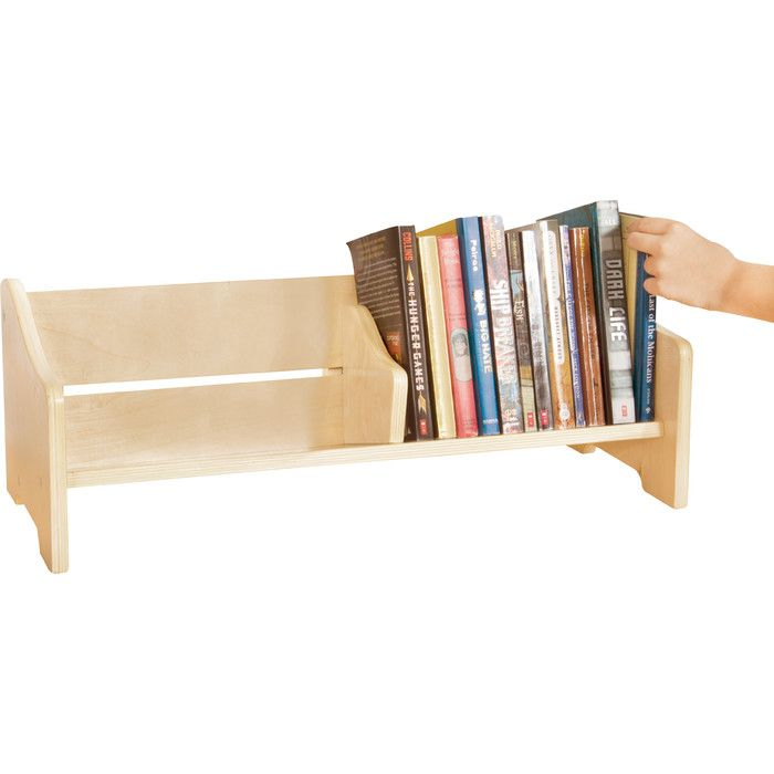 This Convenient Tabletop Book Browser Provides A Place To Store And Read  Favorite Stories Thatu0027s Perfect For Displaying On Top Of A Bookshelf In The  ...