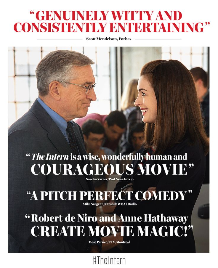 Anne Hathaway And Robert De Niro: 84 Best Images About THE INTERN On Pinterest