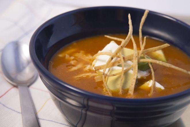 Sopa Azteca - Chicken Tortilla Soup