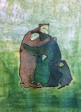 MAARTJE VAN BROEKHUIZEN:  beren famillie