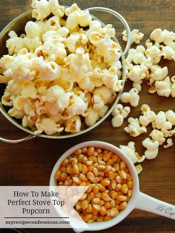 How to Make Perfect Stovetop Popcorn | Movie theater