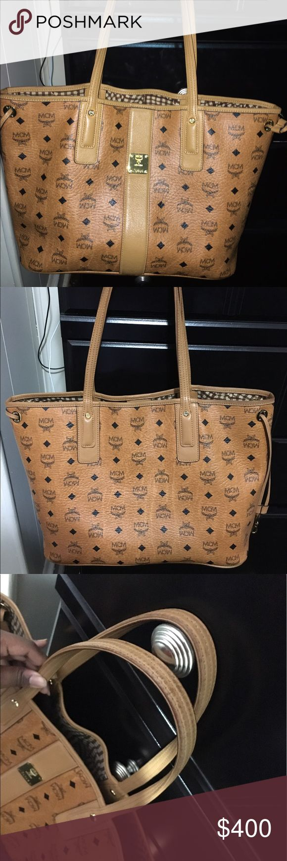 Authentic MCM bag! Clutch & duffle bag included! MCM Bags Totes