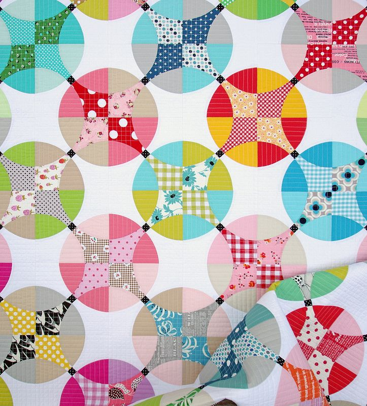 Flowering Snowball Quilt - A Finished Quilt | Red Pepper Quilts | Bloglovin'