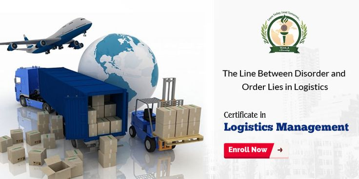 Logistics and Management certification program helps to effectively manage and maintain your inventory of a supply chain. Get Certification @ https://goo.gl/5yX2rO #LogisticsManagement #ShippingandLogistics #LogisticsManagementPrograms