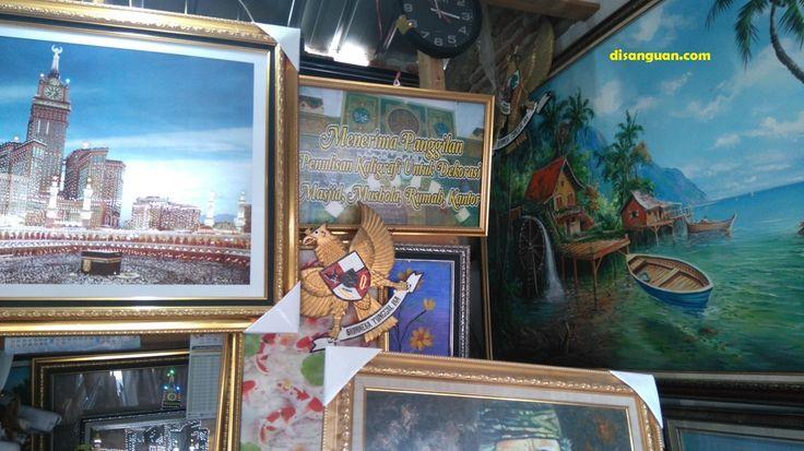 Toko Pigura dan Lukisan Kaligrafi di Kuningan Jawa Barat