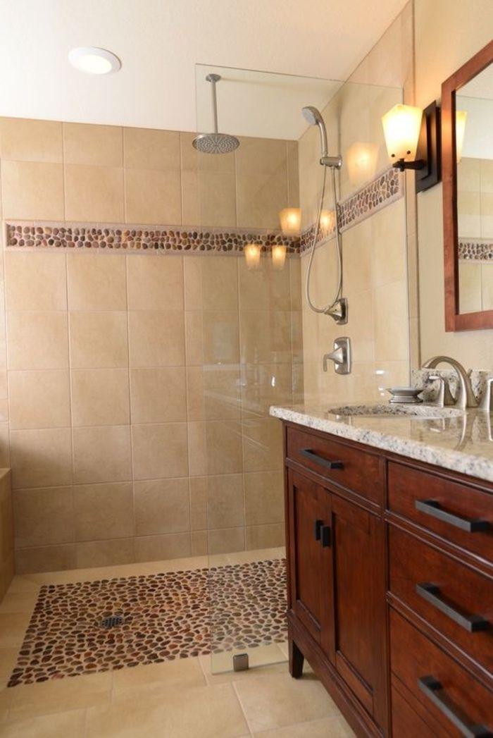 8 best Salle de bain images on Pinterest Bathroom ideas, Bathrooms - carrelage salle de bain petit carreaux