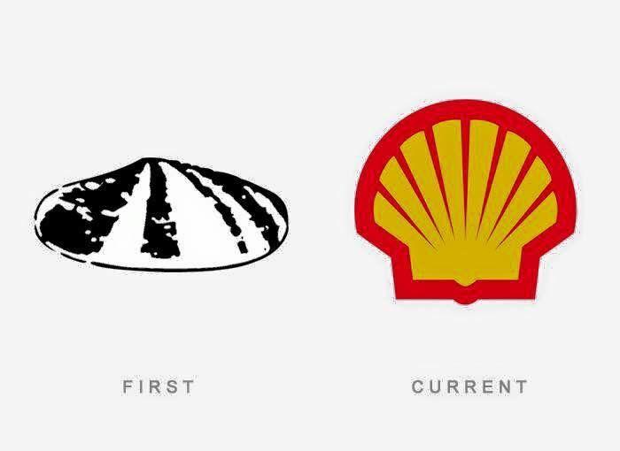 El primer y ultimo #logotipo de #Shell hasta la fecha.