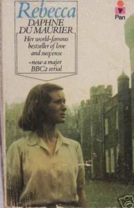 Daphne Du Maurier, Rebecca Cover for the 1979 PBS Mystery! adaptation. Why? Why? Why isn't this on DVD??