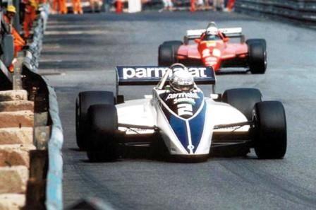 Riccardo Patrese driving a Brabham-Ford won the 1982 Monaco Grand Prix.