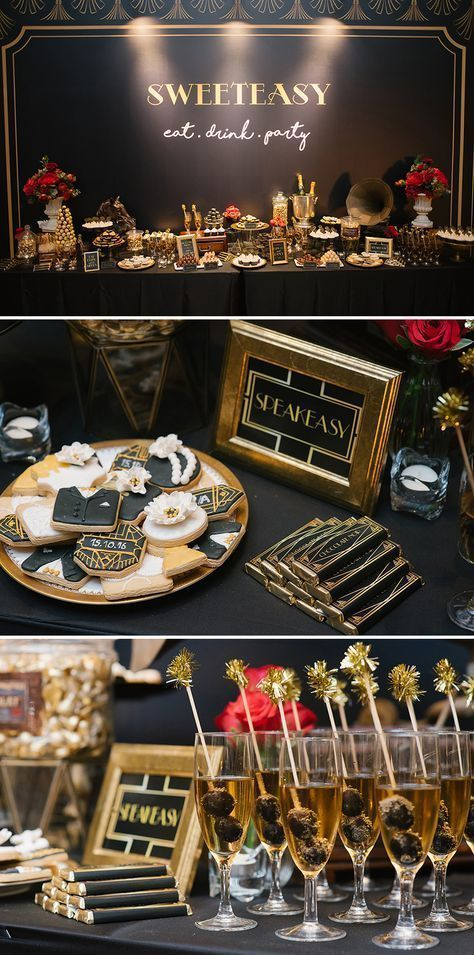 15 Vintage Party Decoration With Great Gatsby Theme That Awesome And Fabulous