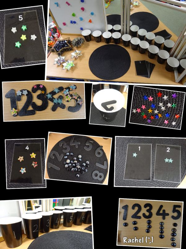 "Opportunities for sorting, counting & pattern making - from Rachel ("",)"