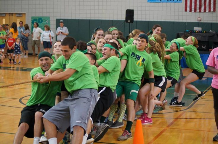 Nothing says Mini-THON like a little healthy competition between the grades! Way to go Pennridge High School!