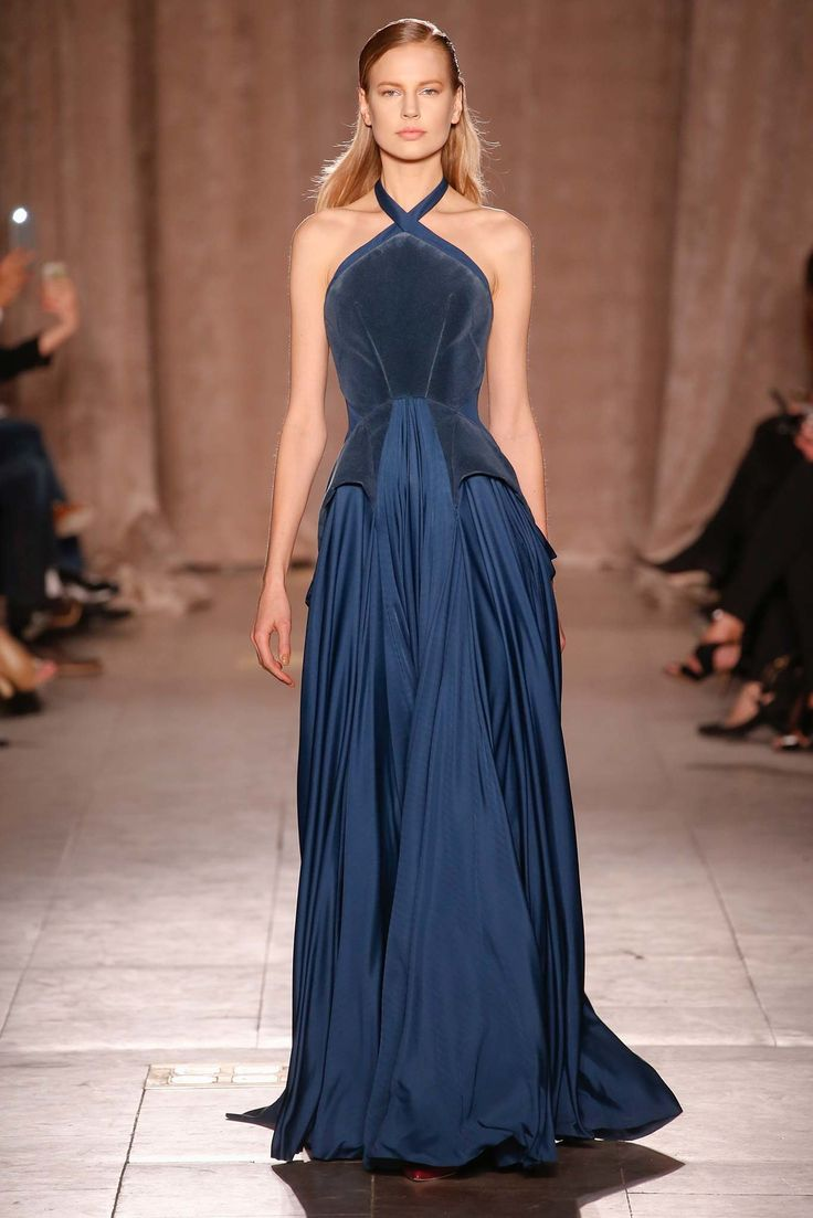 Zac Posen Fall 2015 Ready-to-Wear Fashion Show - Elisabeth Erm
