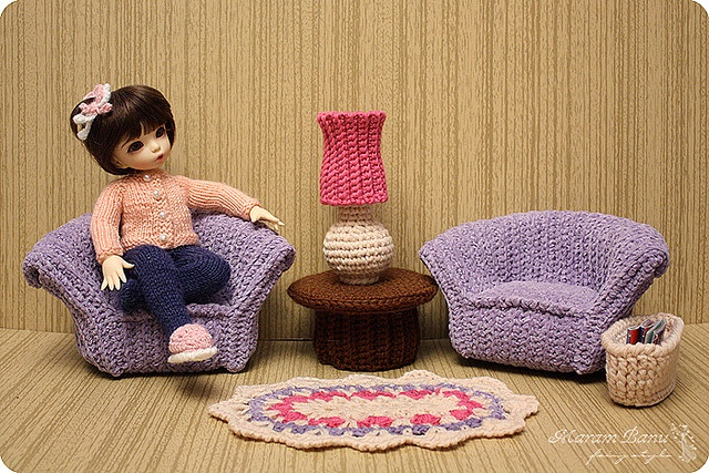 Furniture for LittleFee by Maram Banu, via Flickr