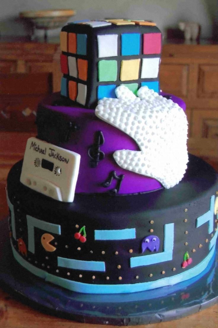 Micheal Jackson I love this cake