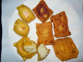 Fried Potato knish recipe