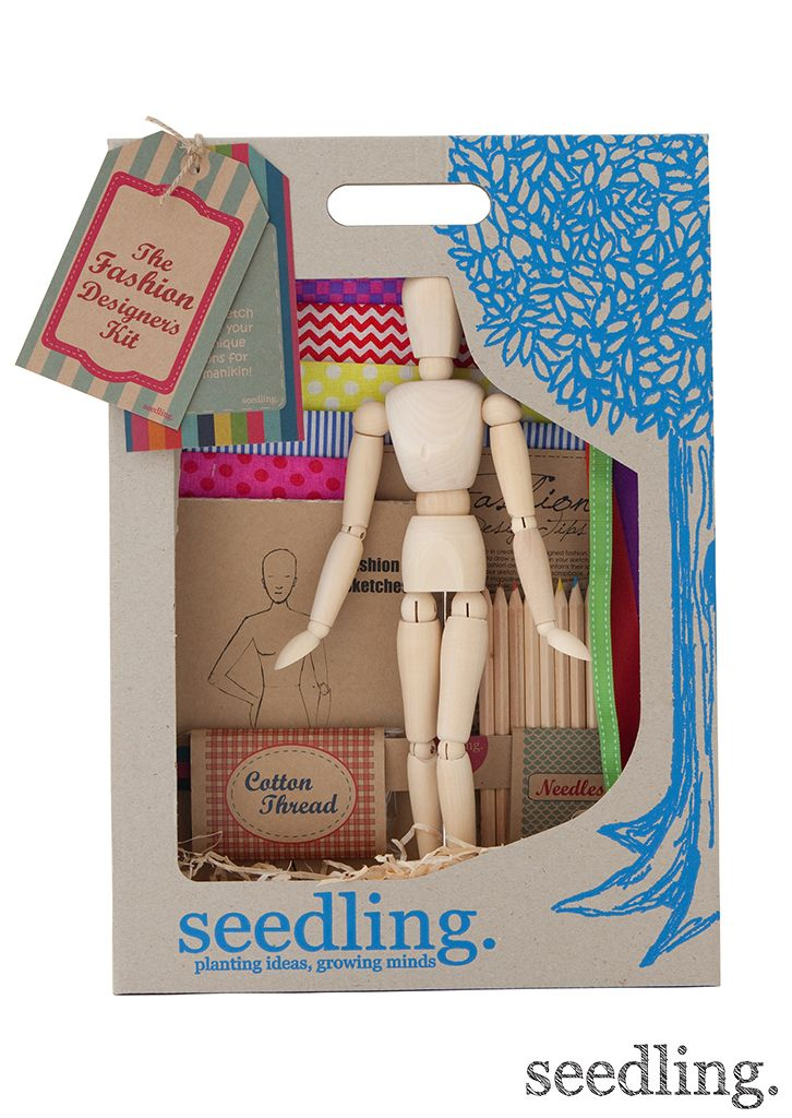 Perfect gift for the little fashionista! Find it at www.seedling.com
