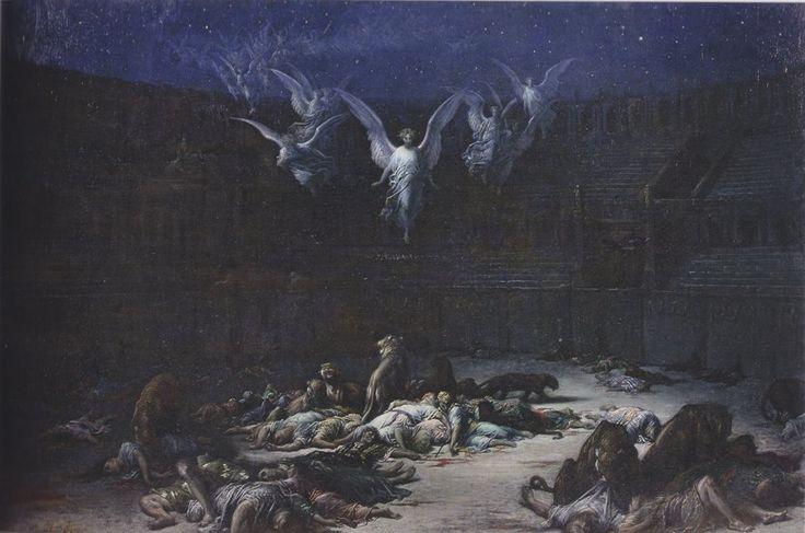 Les Martyrs chrétiens, dit aussi La Nuit dans le cirque