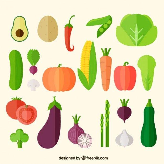 garden branding inspiration ~Vegetables icons collection