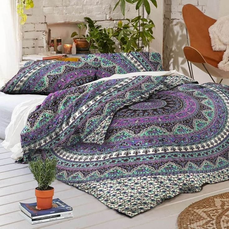 The Hippie Duvet Cover – Pure People