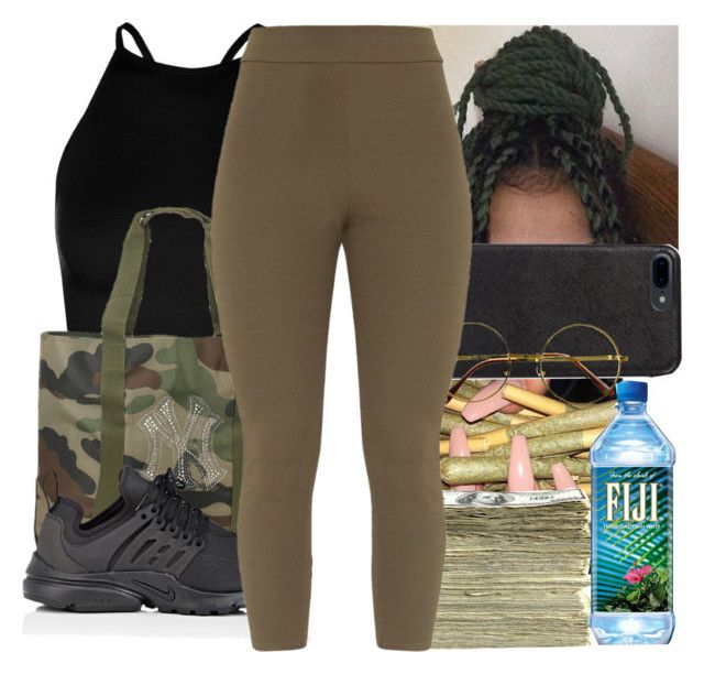 """""""Untitled #375"""" by ajdagoddess ❤ liked on Polyvore featuring Boohoo, NIKE, SEN and Retrò"""
