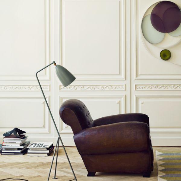 Grasshoppa warmgrey by Greta Grossman for Gubi #Design #interior  #homedecor #lamp  #workspace