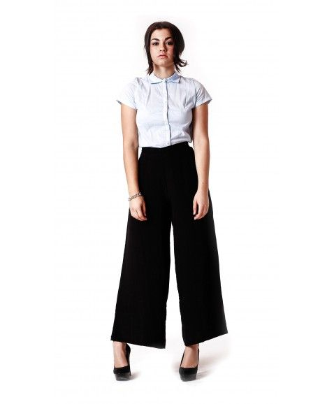 RASPBERRY AND POP PALAZZO PANT - BLACK    ·     Designed in Perth, Western Australia  ·     Silk crepe tebal fabric.  ·     Wide leg design.  ·     Stretch waist with hidden zip.  ·     Easy relaxed fit and feminine.  ·     Model wears size 8