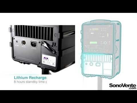 Mipro - Les fonctionnalités de la sono portable MA-505    Vidéo par SonoVente.com sur YouTube.com