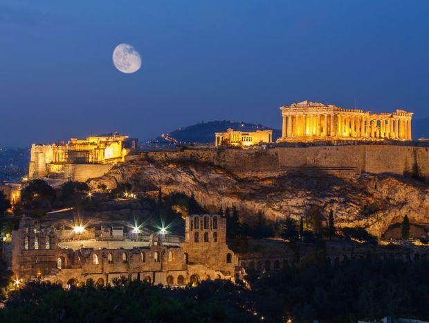 Atény  Hlavné mesto Grécka