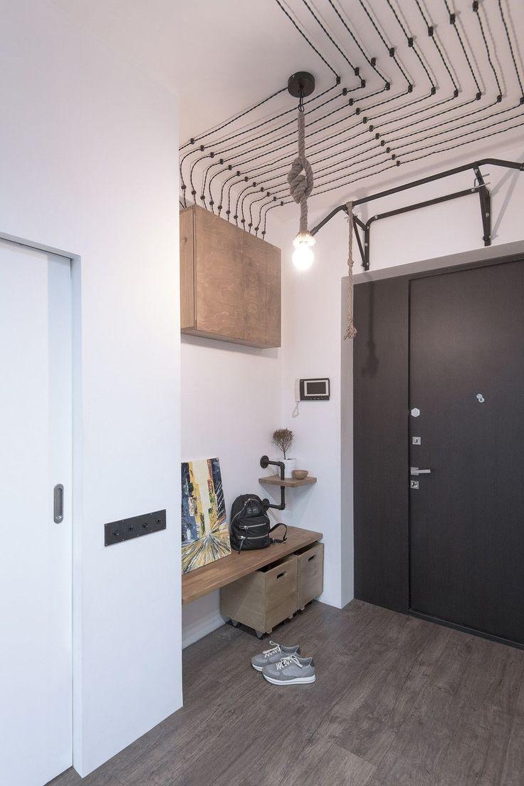 adelaparvu.com despre apartament in stil industrial, Moscova, designer Yevgeniya Razuvayeva, 9design, Foto Dean Alexandrov (7)