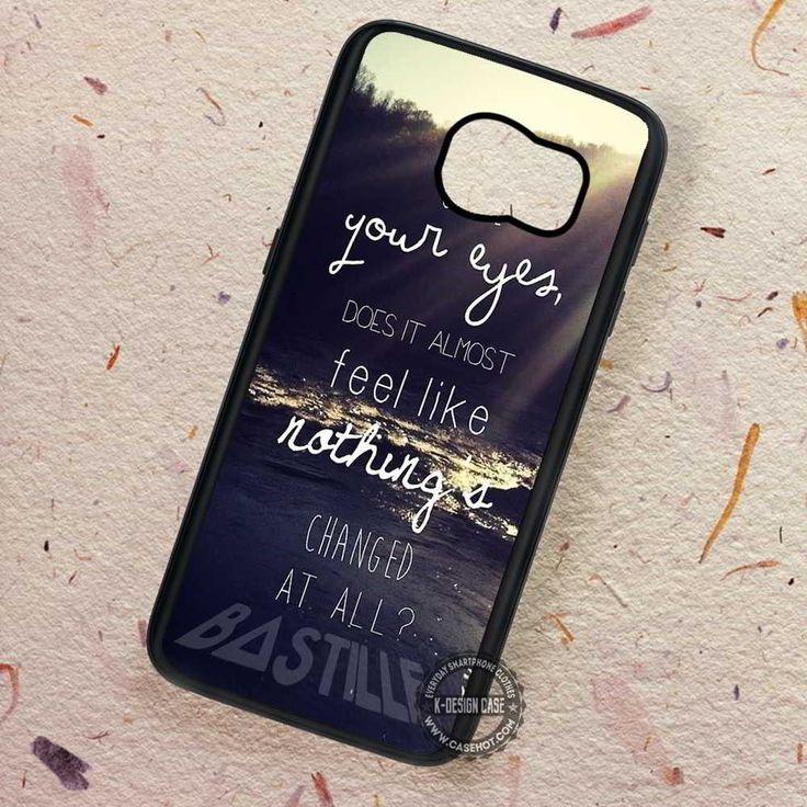 Lyric on Beach Bastille Pompeii - Samsung Galaxy S7 S6 S5 Note 7 Cases & Covers