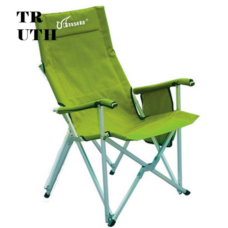 325.73$  Watch now - http://ali8v3.worldwells.pw/go.php?t=32531488269 - Authentic CMARTE outdoor aluminum folding camping fishing portable leisure backrest recliner armchair