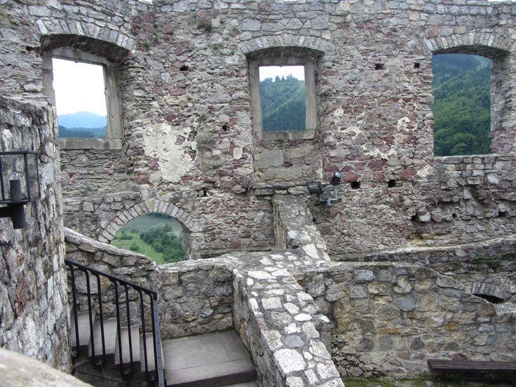 Hrad Strecno, Slovakia