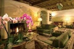 Relax in the living area of Relais Todini