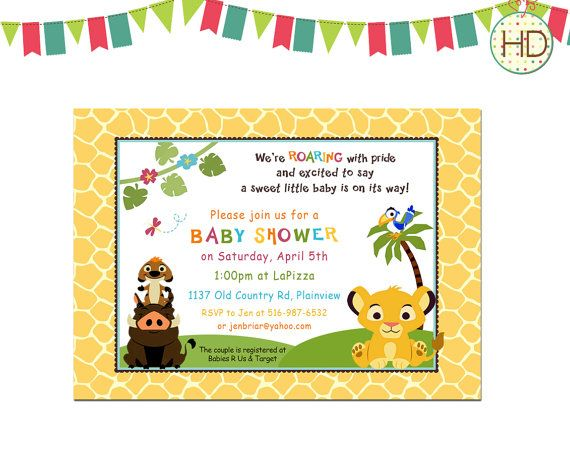 The 25+ best Simba baby shower ideas on Pinterest King baby - baby shower templates for word