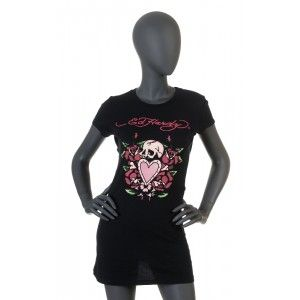 Ed Hardy - black  t-shirt