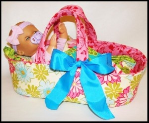 Download Baby Doll Carrier Sewing Pattern | Dolls & Clothing Sewing Patterns for Download | YouCanMakeThis.com