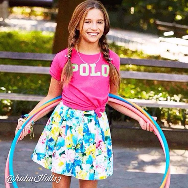 Added by #hahah0ll13 Dance Moms Mackenzie Ziegler for Polo Ralph Lauren