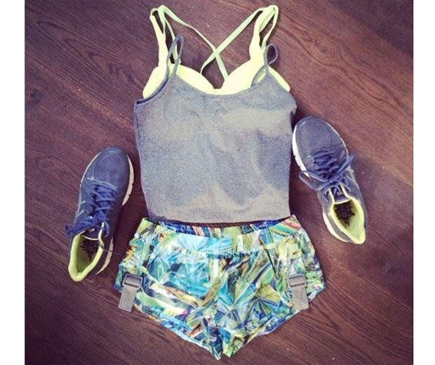 Millie Mackintosh Makes Gym Wear Look Effortless With This Look