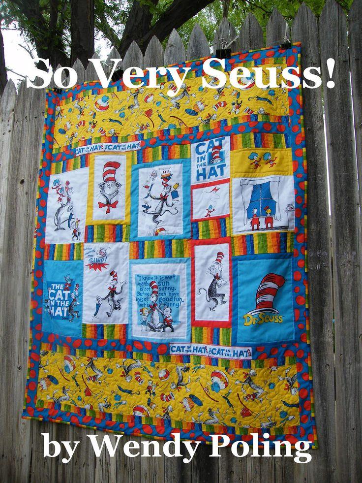 24 Best Images About Dr Seuss Quilts On Pinterest Cats