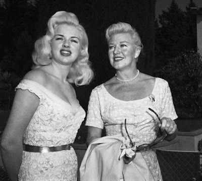 Vintage Glamour Girls: Diana Dors & Ginger Rogers