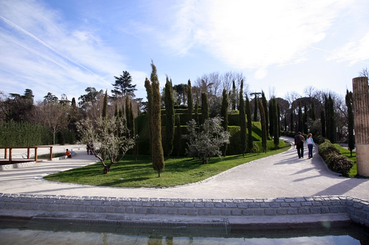 Bosque de Recuerdo, Buen Retiro, Madrid… To commemorate those who died in the 2004 Madrid train bombings.